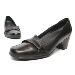 CLARKS ARTISAN Leather Heels ARCH SUPPORT